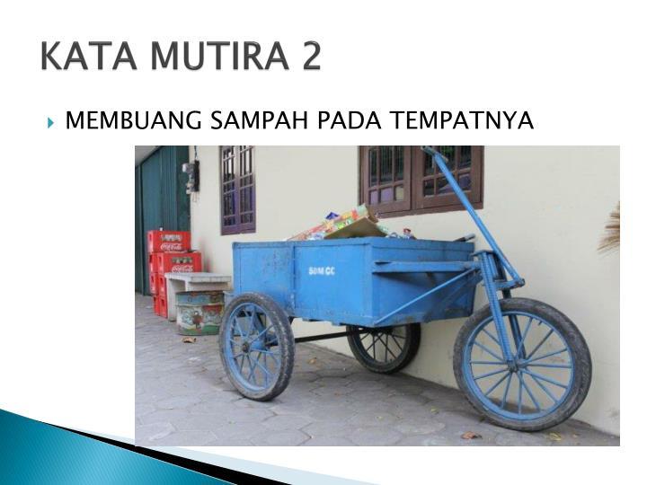 KATA MUTIRA 2