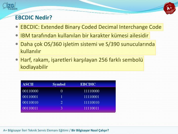 EBCDIC Nedir?