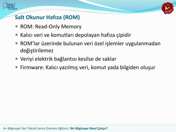 Salt Okunur Hafıza (ROM)