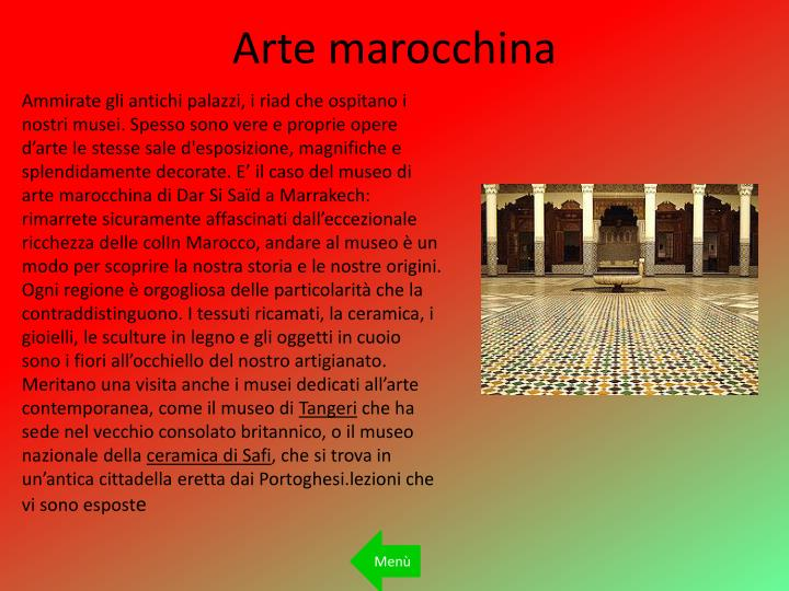 Arte marocchina