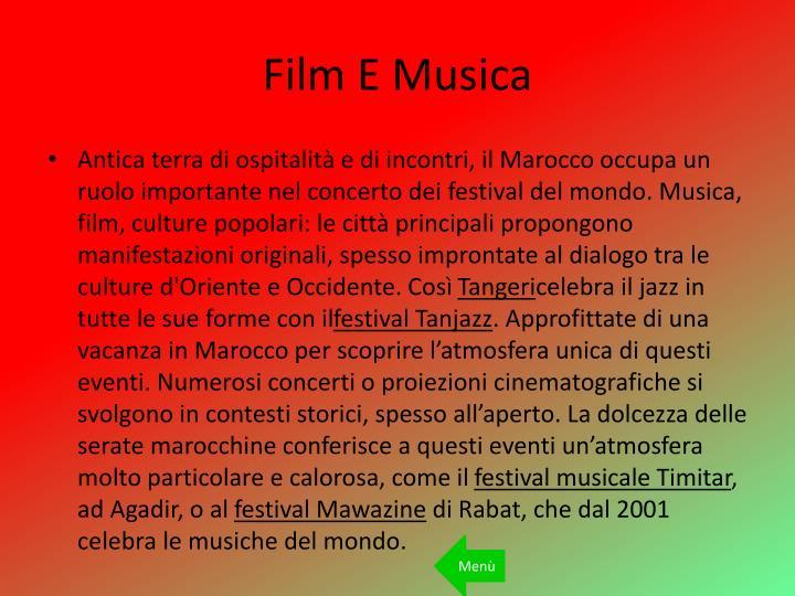 Film E Musica
