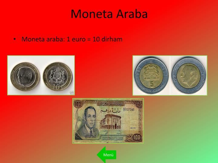 Moneta Araba