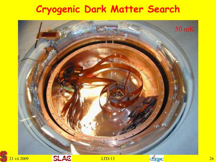 Cryogenic Dark Matter Search