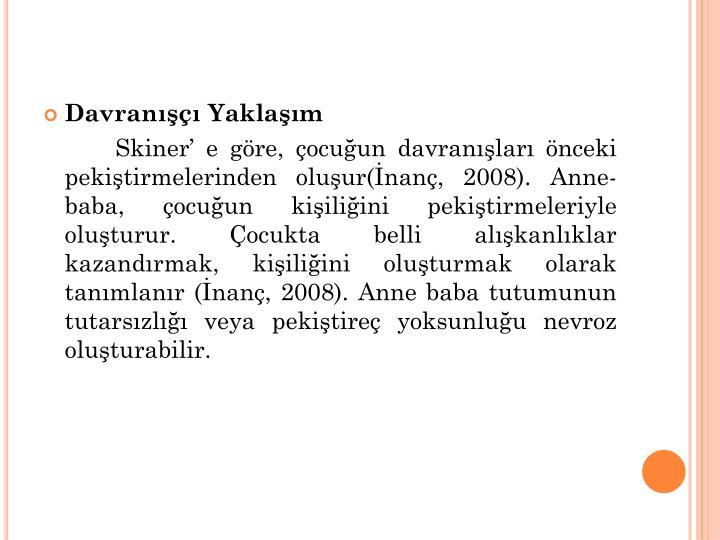 Davran Yaklam