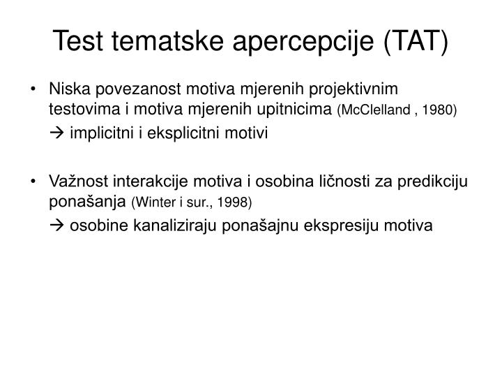 Test tematske apercepcije (TAT)