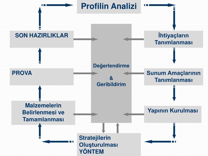 Profilin Analizi