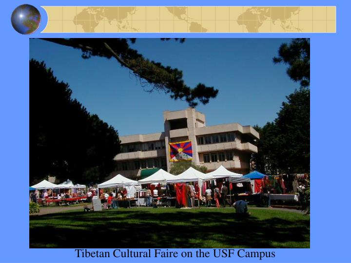 Tibetan Cultural Faire on the USF Campus