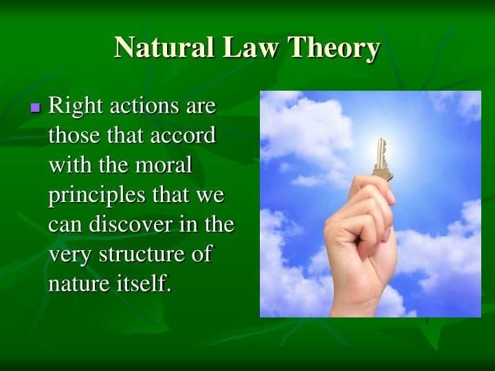 natural law theory essay The essay is now on track yet natural law theory states that the interior and exterior act must be in harmony, which means this man would be condemned.
