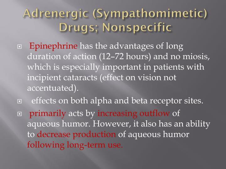 Adrenergic (