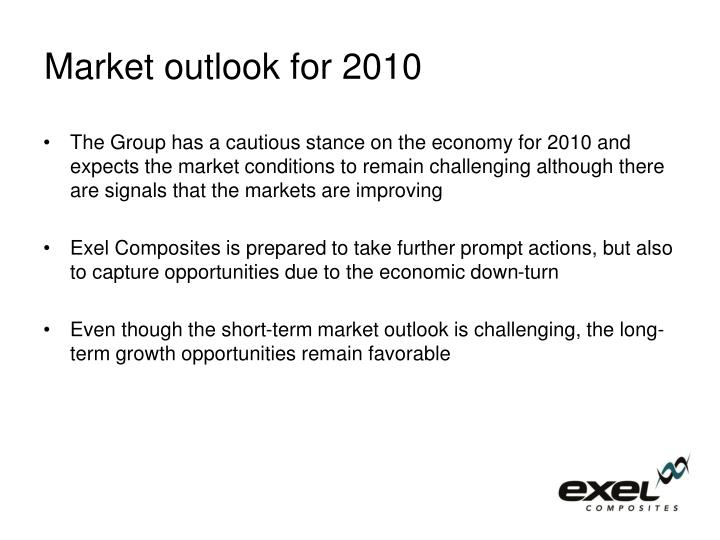 Market outlook for 2010