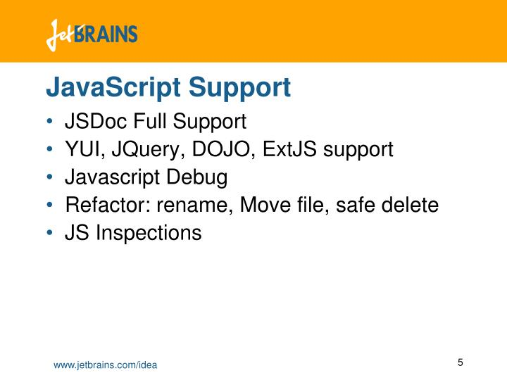 JavaScript Support