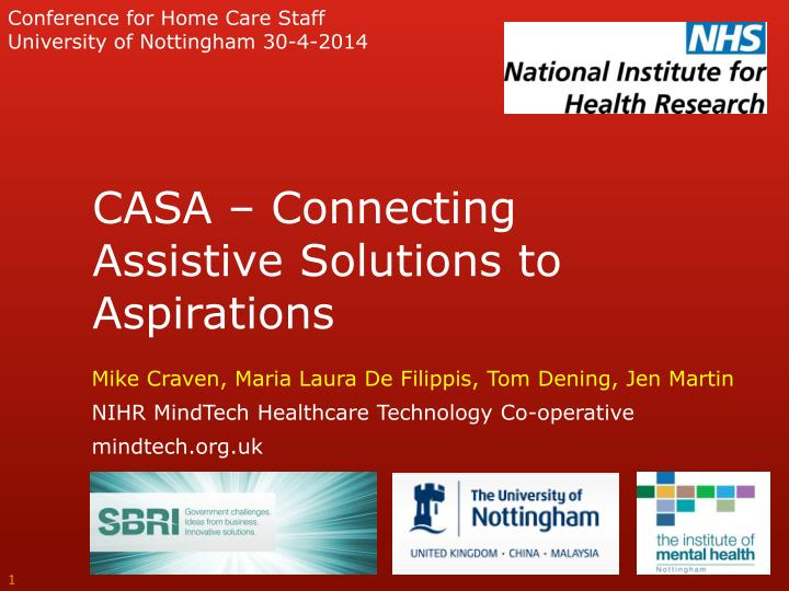 Conference for Home Care Staff