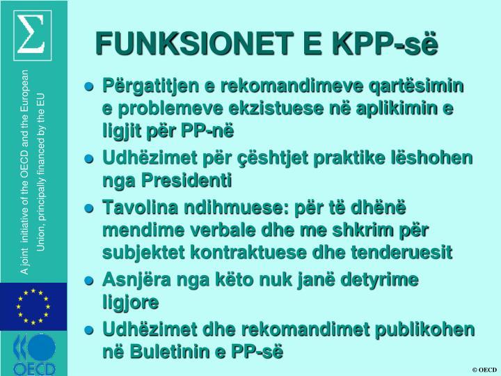 FUNKSIONET E KPP