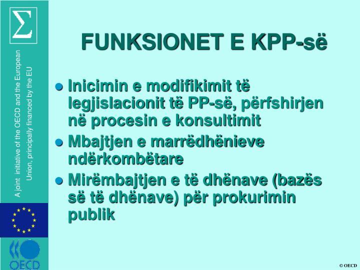 FUNKSIONET E