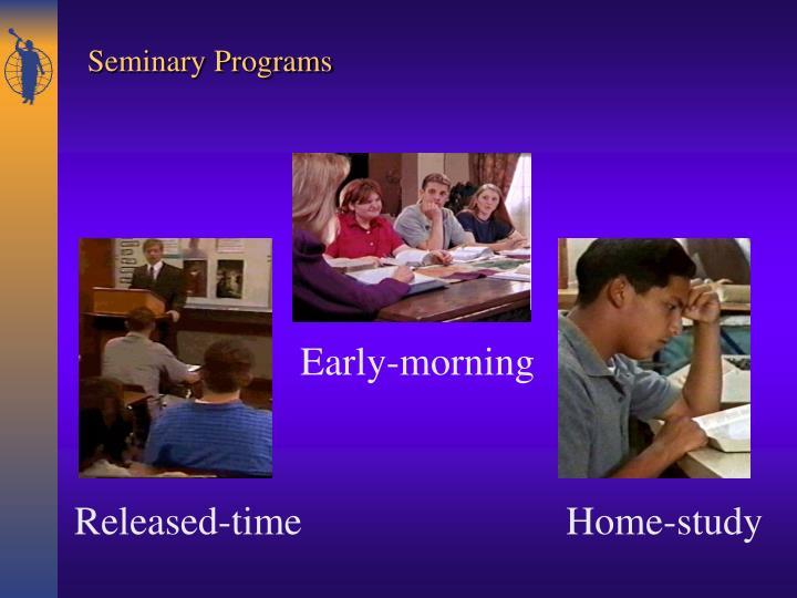 Seminary Programs