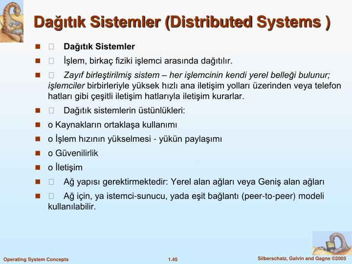 Dağıtık Sistemler (
