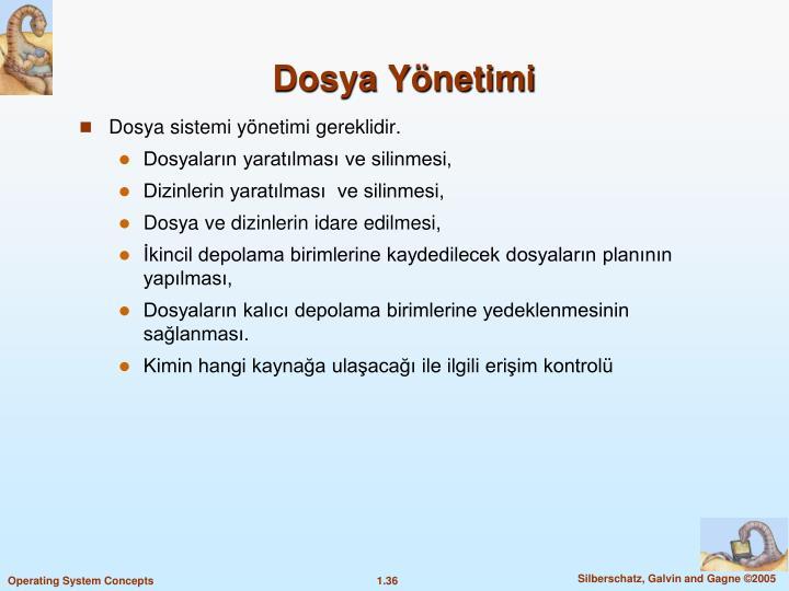 Dosya Ynetimi