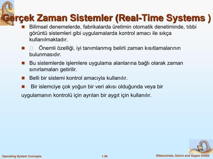 Gerçek Zaman Sistemler (Real-Time
