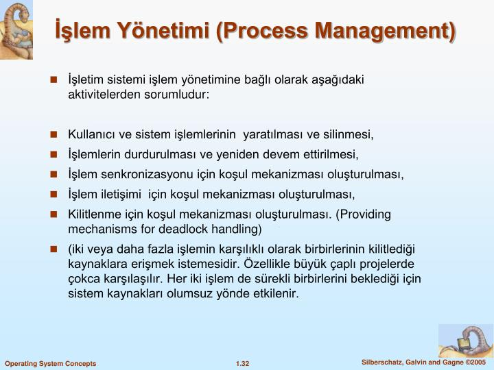 lem Ynetimi (Process Management)