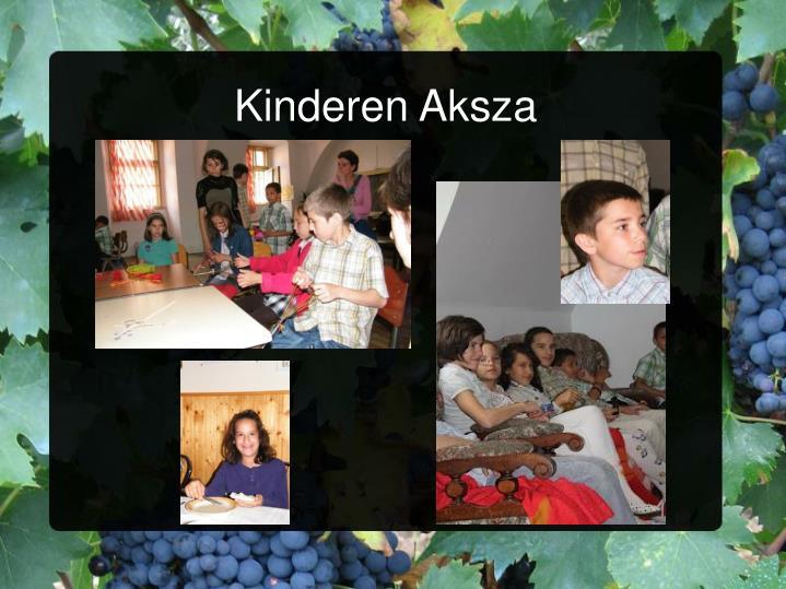Kinderen Aksza