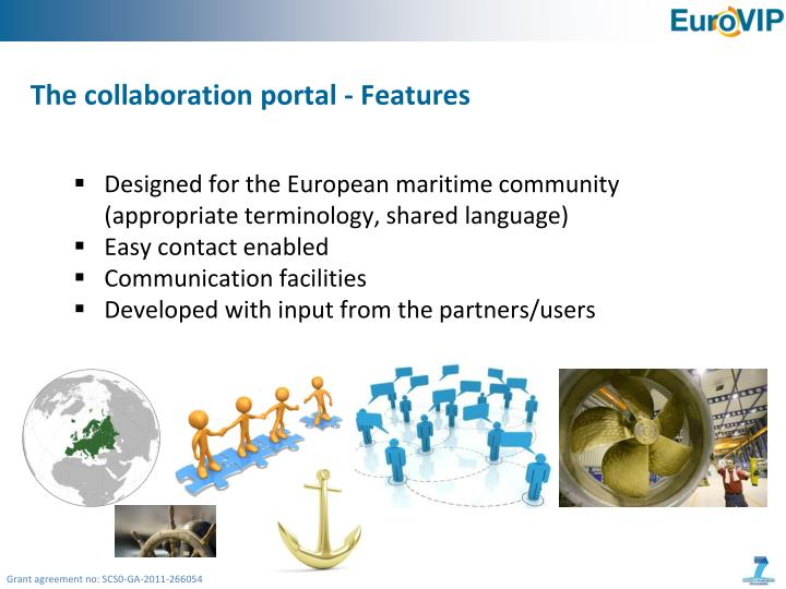 The collaboration portal - Features