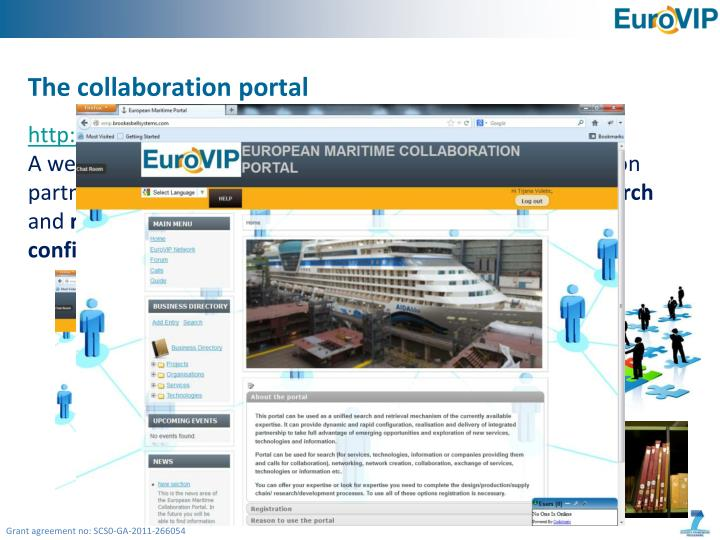 The collaboration portal