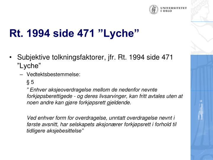 "Rt. 1994 side 471 ""Lyche"""