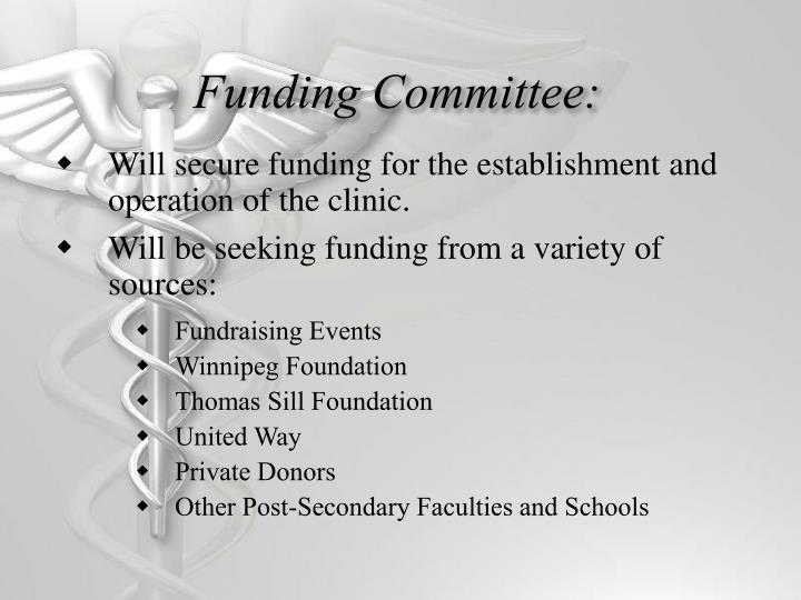 Funding Committee: