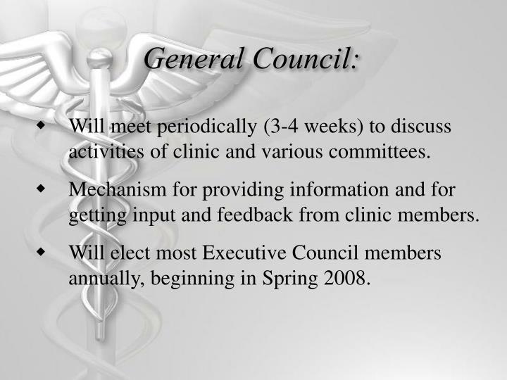 General Council: