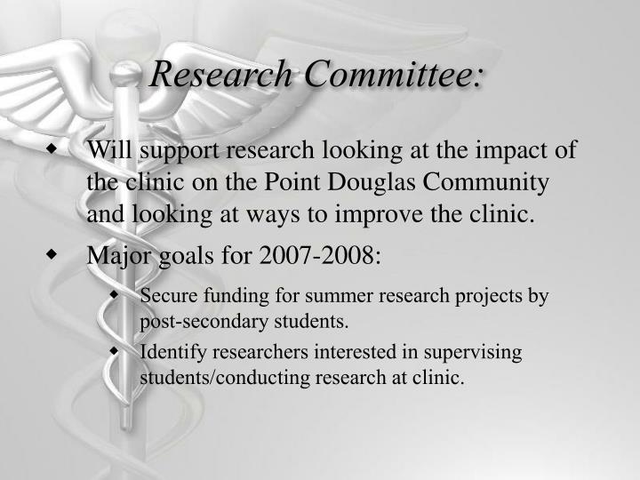 Research Committee: