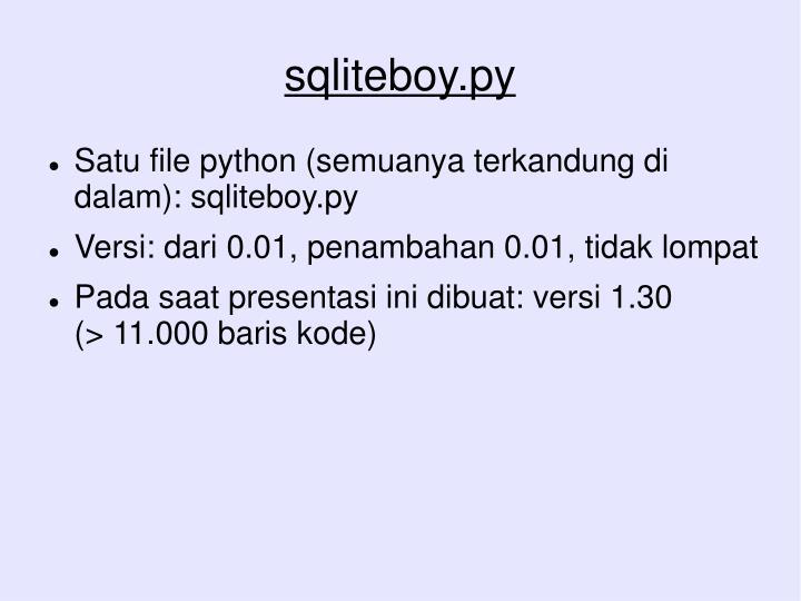 sqliteboy.py