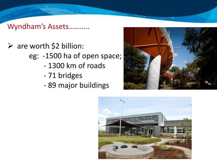 Wyndham's Assets………..