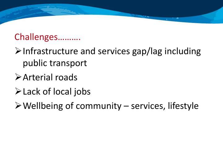 Challenges……….