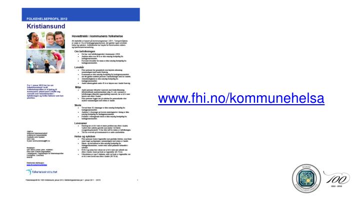 www.fhi.no/kommunehelsa