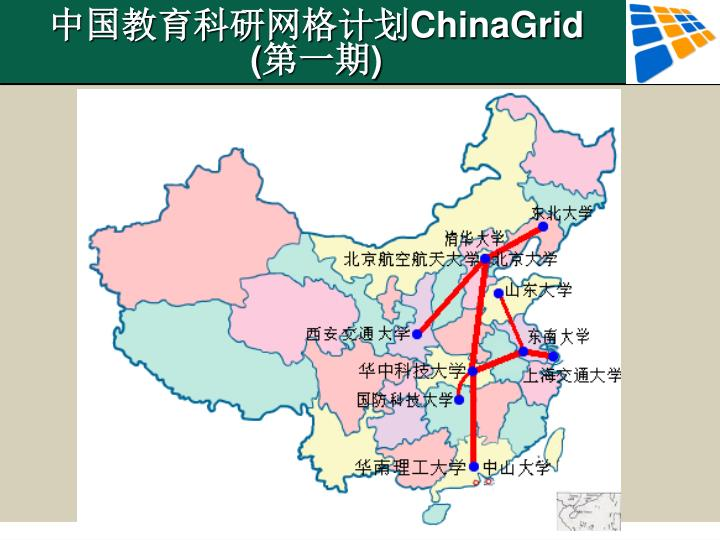 中国教育科研网格计划