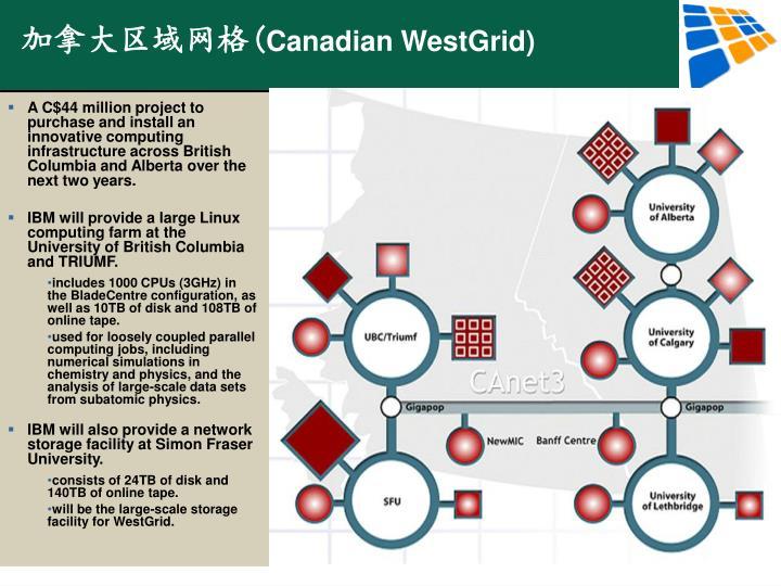 加拿大区域网格(
