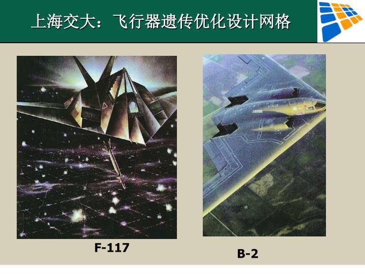 上海交大:飞行器遗传优化设计网格