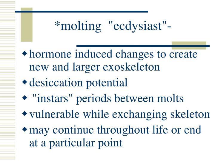 "*molting  ""ecdysiast""-"