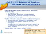call 5 1 2 internet of services software and virtualisation