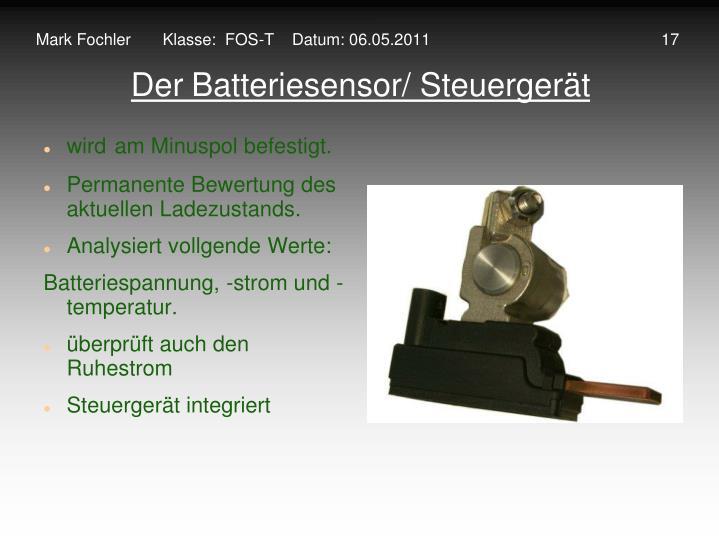 Mark Fochler       Klasse:  FOS-T    Datum: 06.05.2011                                                   17