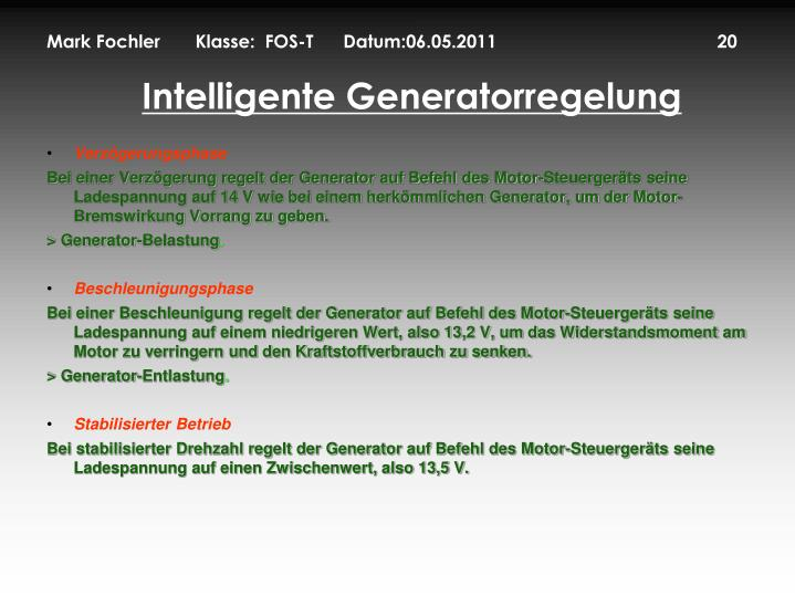 Mark Fochler       Klasse:  FOS-T      Datum:06.05.2011                                            20