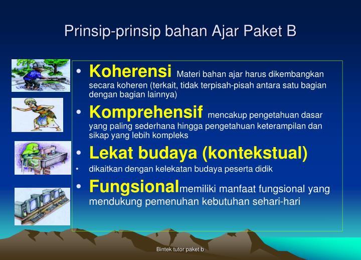 Prinsip-prinsip