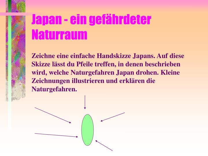 Japan - ein gefährdeter Naturraum