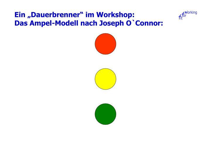 """Ein """"Dauerbrenner"""" im Workshop:"""