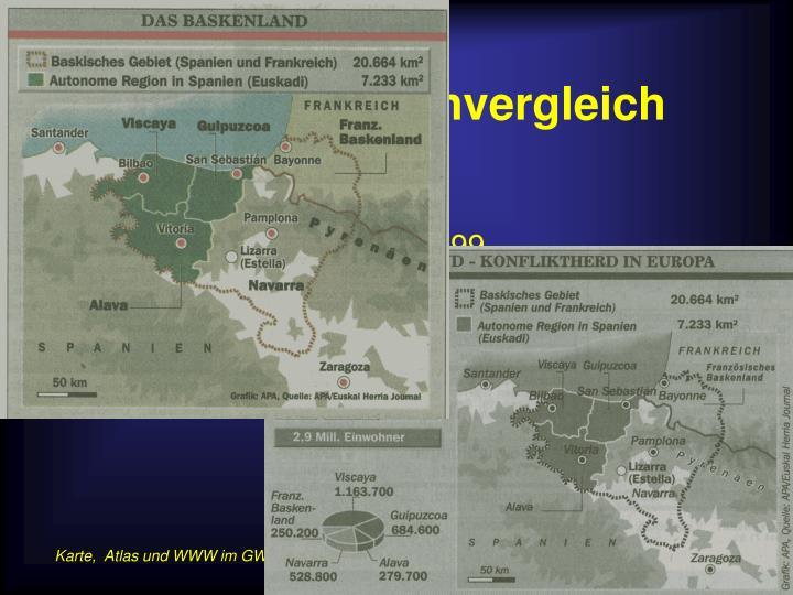 Beispiel Kartenvergleich
