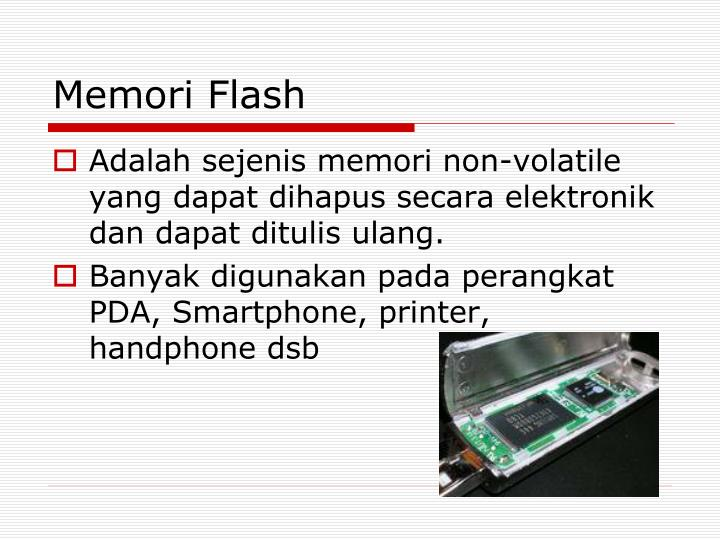 Memori Flash