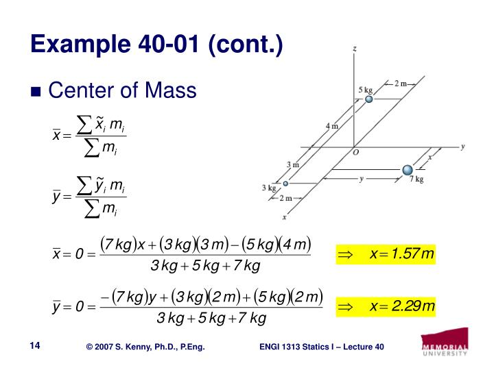 Example 40-01 (cont.)