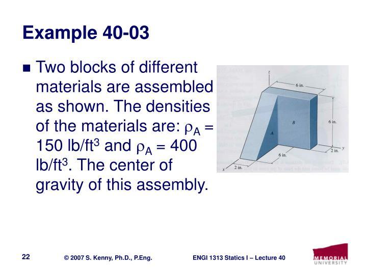 Example 40-03
