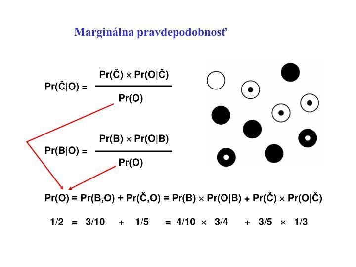 Marginálna pravdepodobnosť