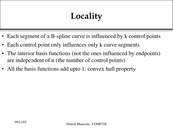 Locality